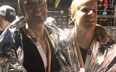 Breaking 11:                          Kyle Coon Sets Blind Ironman Record