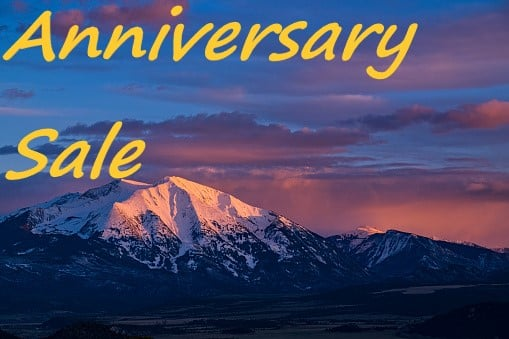 Anniversary Sale – 10-75% Off Almost Everything In The Store!