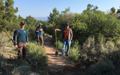 ADOPT A TRAIL WORK DAY –THURSDAY OCTOBER 22ND – LORAX TRAIL
